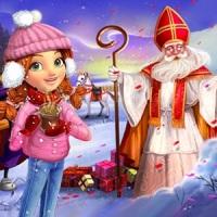 Wiejskie Życie i Mikołaj w Holandii